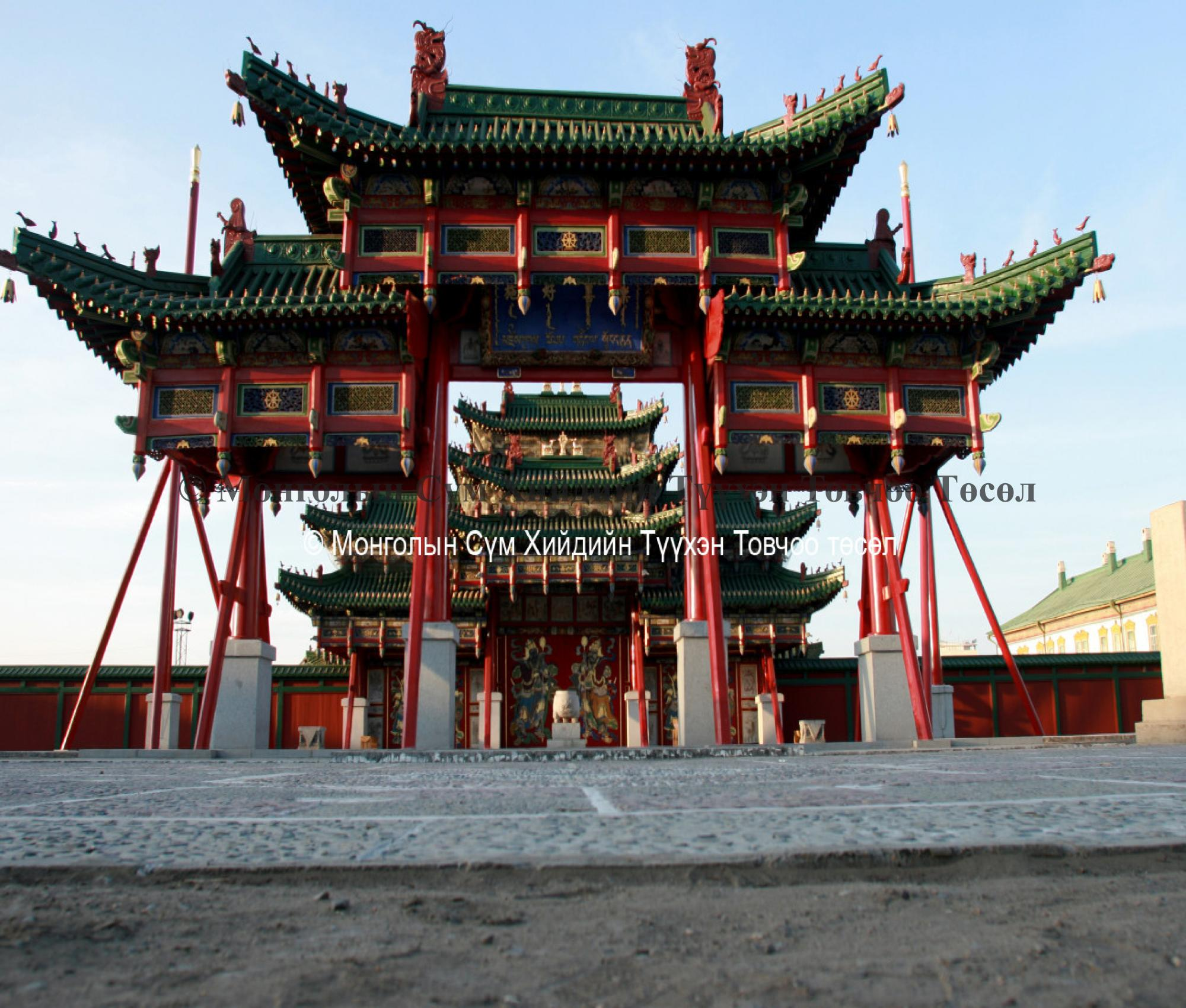 The Andinmen gate and the main gate 2007